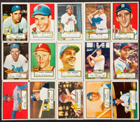 1952 Topps Baseball Low and Mid Series Partial Set (193/310)