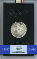 1885-CC $1 GSA MS61 NGC. NGC Census: (159/9972). PCGS Population: (5/535). CDN: $550 Whsle. Bid for NGC/PCGS MS61. Minta...