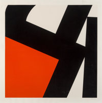 Pierre Clerk (b. 1928) Untitled, 1976 Screenprint in colors on paper 38 x 38 inches (96.5 x 96.5 cm) (sheet) Ed. 35/