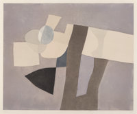 Afro Basaldella (1912-1976) Lunario, 1974 Etching and aquatint in colors on paper 41-1/4 x 49-3/8