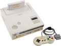 Video Games:Nintendo, Nintendo Play Station Super NES CD-ROM Prototype - Sony an...