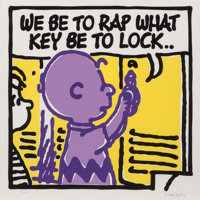 Mark Drew (b. 1978) Lock (Digable Planets), 2019 Screenprint in colors on Somerset paper 19-5/8 x 19-5/8 inches (49.8