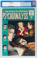 Golden Age (1938-1955):Horror, Psychoanalysis #4 (EC, 1955) CGC VF 8.0 White pages....