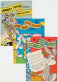Bronze Age (1970-1979):Cartoon Character, Looney Tunes Box Lot (Gold Key, 1945-62) Condition: Average VG/FN....