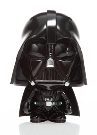 BAPE X Lucas Films Darth Vader, 2013 Painted cast vinyl 7-1/4 x 6 x 5 inches (18.4 x 15.2 x 12.7 cm) Stamped to the