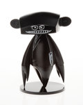 Collectible, Futura 2000 X Pop Life Global X ComplexCon. Johnny Figure (Black), 2019. Painted cast vinyl. 10 x 7-1/2 x 6-1/2 inches (...