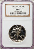 1941 Five-Piece Proof Set PR65 to PR66 NGC. This set will include the following: Cent PR65 Red; Nickel PR66; Dime PR65;...
