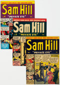Golden Age (1938-1955):Crime, Sam Hill Private Eye Group of 6 (Archie, 1951-52) Condition: Average FN-.... (Total: 6 Items)