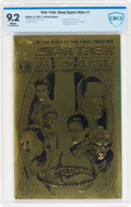Modern Age (1980-Present):Science Fiction, Star Trek: Deep Space Nine #1 Limited Gold Edition. (Malibu, 1993) CGC NM- 9.2 White pages....