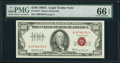 Fr. 1551 $100 1966A Legal Tender Note. PMG Gem Uncirculated 66 EPQ