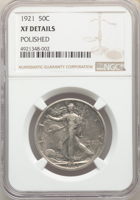 1921 50C 40 Details NGC