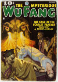 Pulps:Horror, Wu Fang - October 1935 (Popular) Condition: FN-....