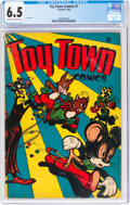 Golden Age (1938-1955):Funny Animal, Toy Town Comics #1 (Toytown, 1945) CGC FN+ 6.5 Cream to off-white pages....