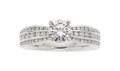Estate Jewelry:Rings, Diamond, Platinum Ring, Ritani. ...