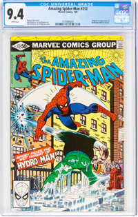 The Amazing Spider-Man #212 (Marvel, 1981) CGC NM 9.4 White pages