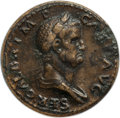 Ancients:Roman Imperial, Ancients: Galba (AD 68-69). AE sestertius (35mm, 6h). ANACS VF 35....