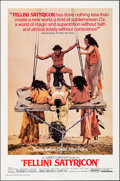 """Movie Posters:Foreign, Fellini Satyricon (United Artists, 1969). Folded, Very Fine+. One Sheet (27"""" X 41""""). Foreign.. ..."""
