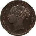 South Africa: Griquatown. Republic Proof Pattern Penny ND (1890) PR63 Brown NGC
