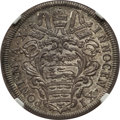 Italy: Papal States. Innocent XI Testone Anno X (1686) MS66 NGC