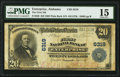 Enterprise, AL - $20 1902 Plain Back Fr. 650 The First National Bank Ch. # 6319 PMG Choice Fine 15