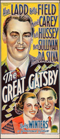 "Movie Posters:Drama, The Great Gatsby (Paramount, 1949). Folded, Very Fine/Near Mint. Australian Daybill (13"" X 30""). Drama.. ..."
