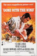 """Movie Posters:Academy Award Winners, Gone with the Wind (MGM, R-1980). Folded, Very Fine+. One Sheet (27"""" X 41""""). Howard Terpning Artwork. Academy Award Winners...."""