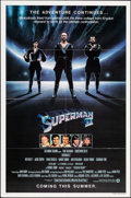 """Movie Posters:Action, Superman II & Other Lot (Warner Bros., 1981). Folded, Very Fine+. One Sheet (27"""" X 41"""") & Mini Lobby Card Set of 8 (8"""" X 10""""... (Total: 9 Items)"""