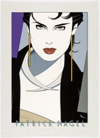 Patrick Nagel Galérie Michael Limited Edition Signed Serigraph #31/250(Mirage Editions, 1982)