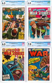 Star Spangled War Stories CGC-Graded Group of 4 (DC, 1957-67).... (Total: 4 )