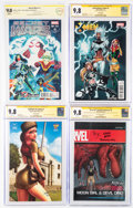 Modern Age (1980-Present):Miscellaneous, Marvel/DC and others CGC-Graded Comics Group of 6 (DC/Marvel, 2015-16) CGC/CBCS NM/MT 9.8 White pages.... (Total: 6 )
