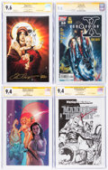 Modern Age (1980-Present):Miscellaneous, Modern Age CGC Signature Series High-Grade Comics Group of 6(Various Publishers, 1996-2018) Average CGC NM 9.4 White pages.... (Total: 6 )