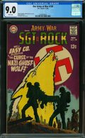 Silver Age (1956-1969):War, Our Army at War #199 (DC, 1968) CGC VF/NM 9.0 WHITE pages.