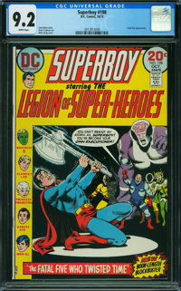 Superboy #198 (DC, 1973) CGC NM- 9.2 WHITE pages