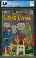 Silver Age (1956-1969):Superhero, Superman's Girlfriend Lois Lane #33 (DC, 1962) CGC GD/VG 3.0 OFF-WHITE pages.