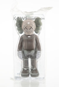 KAWS (b. 1974) Companion (Brown), 2016 Painted cast vinyl 10-3/4 x 5 x 3-1/2 inches (27.3 x 12.7