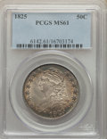 Bust Half Dollars: , 1825 50C MS61 PCGS. PCGS Population: (14/247). NGC Census: (40/232). MS61. Mintage 2,900,000. . From A Small California...