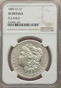 1889-CC $1 -- Cleaned -- NGC Details. XF. Mintage 350,000. ...(PCGS# 7190)