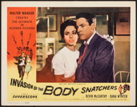 """Invasion of the Body Snatchers (Allied Artists, 1956). Very Fine-. Lobby Card (11"""" X 14""""). Science Fiction..."""