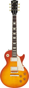 Musical Instruments:Electric Guitars, Circa 2010 Gibson Les Paul Historical R-8 Sunburst Solid Body Electric Guitar, Serial #8 0339.. ...