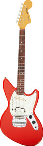 Musical Instruments:Electric Guitars, Circa 2004 Fender Jag-Stang Red Solid Body Electric Guitar, Serial # Q 028582.. ...
