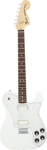 Musical Instruments:Electric Guitars, 2012 Chris Shiflett Fender Telecaster Deluxe White Solid Body Electric Guitar, Serial # MX12305375.. ...