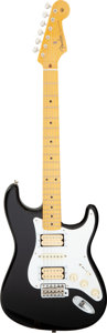 Musical Instruments:Electric Guitars, 2014 Dave Murray Signature Model Fender Stratocaster Black Solid Body Electric Guitar, Serial #V208934.. ...