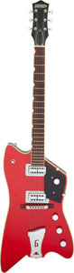 Musical Instruments:Electric Guitars, 2006 Gretsch Billy Bo Red Solid Body Electric Guitar, Serial #JT06042109.. ...