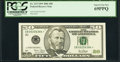 Small Size:Federal Reserve Notes, Fr. 2127-B* $50 2001 Federal Reserve Star Note. PCGS Superb Gem New 69PPQ.. ...