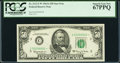 Small Size:Federal Reserve Notes, Fr. 2113-C* $50 1963A Federal Reserve Star Note. PCGS Superb Gem New 67PPQ.. ...