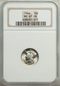 1944 10C MS67 Full Bands NGC. NGC Census: (67/1). PCGS Population: (133/8). CDN: $525 Whsle. Bid for problem-free NGC/PC...