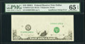 Insufficient Inking of Face Printing Error Fr. 2028-K $10 1988A Federal Reserve Note. PMG Gem Uncirculated 65 EPQ
