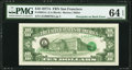Overprint on Back Error Fr. 2024-L $10 1977A Federal Reserve Note. PMG Choice Uncirculated 64 EPQ