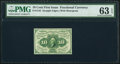 Fractional Currency:First Issue, Fr. 1242 10¢ First Issue PMG Choice Uncirculated 63 EPQ.. ...