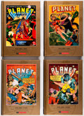 Memorabilia:Comic-Related, Roy Thomas Presents Planet Comics Vols. 1-13 (PS Artbooks, 2013-2015) Condition: Average NM-.... (Total: 13 Items)